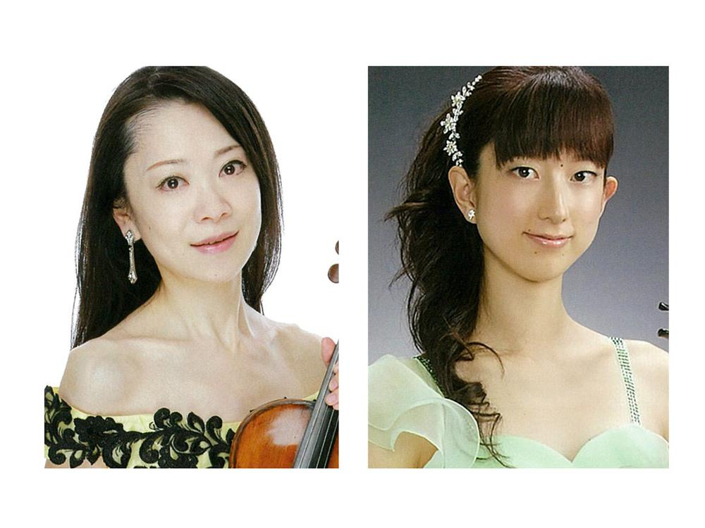 森垣悠美さん(左)と中澤万紀子さん