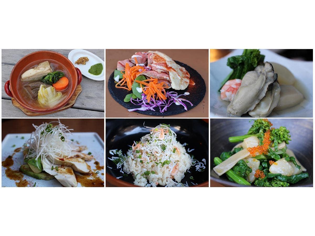 練馬産野菜を使ったオリジナル料理
