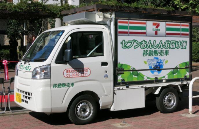 移動販売車のイメージ