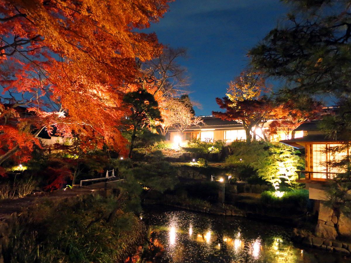 向山庭園の紅葉