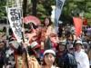 石神井公園で「照姫まつり」 時代行列、鉄砲隊演武、鷹狩など