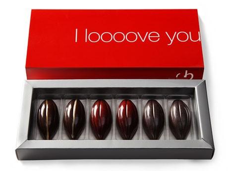 「ポッド」が6個入った箱詰め「I love you」©Oriol Balaguer