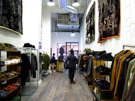 「Nepenthes」ニューヨーク旗艦店の店内