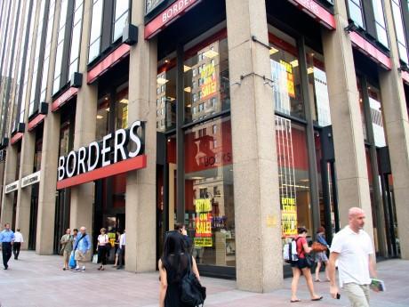 店じまいセール中の「ボーダーズ」ペンプラザ店