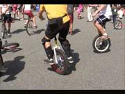 ニューヨークを一輪車で走る-「NYCユニサイクルフェスティバル」開催へ