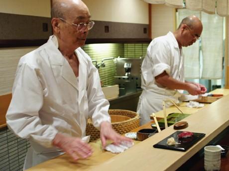 「Jiro Dreams of Sushi」のひとこま(写真提供:Magnolia Pictures)