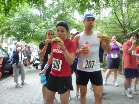 昨年の「NYC Pizza Run(ピザラン)」の様子(写真提供:Jason Feirman)