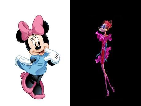 極細ミニーマウスのイメージ図