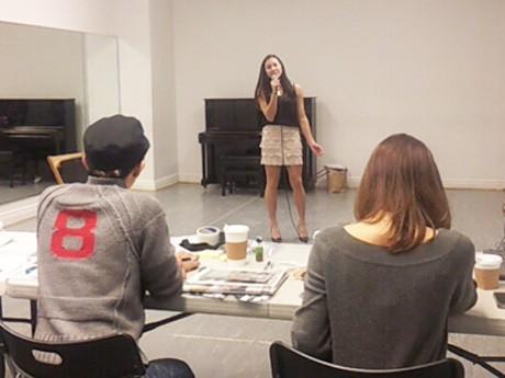 「avex audition MAX 2013」審査風景