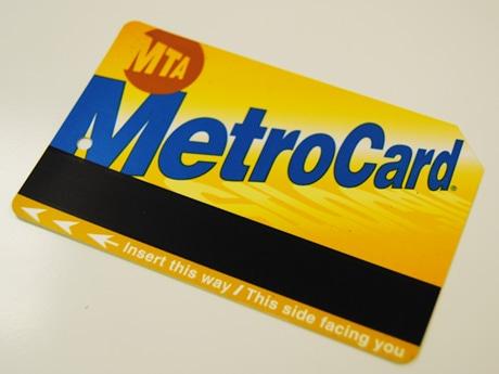 現在のメトロカード。EasyPay MetroCardを購入すると新しいカードが郵送される。