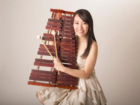 ビブラホン奏者の三村未佳さん
