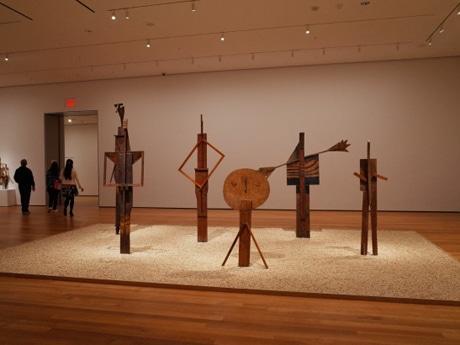 ピカソ彫刻大回顧展の展示風景