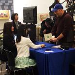 NY紀伊国屋書店でこんまりさんトークショー&サイン会 現地テレビ局も取材に