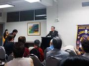NYで国際ジャーナリスト内田忠男さん講演会 海外に住む日系人に日本の現状伝える