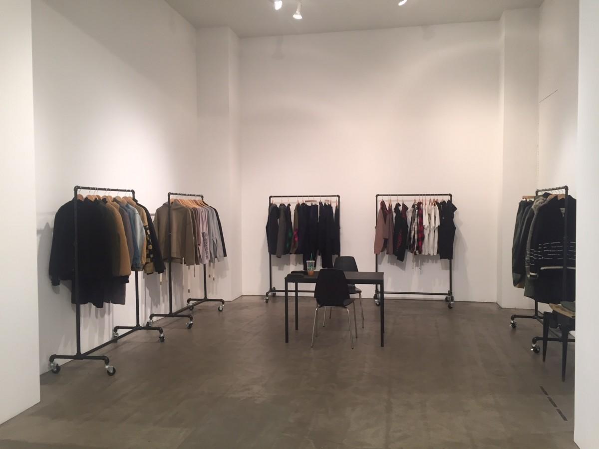 NYショールームに日本製シャツ展示 品質とデザインをアピール