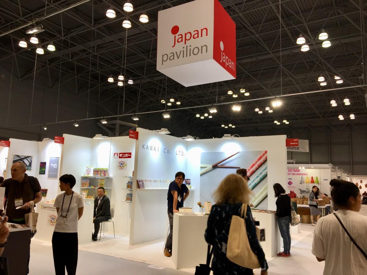 日本から企業25社が出展したジャパンパビリオン