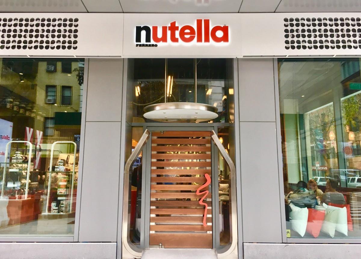 「Nutella Cafe New York」外観