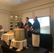 NYで菊正宗の新酒「百黙」ローンチパーティ 米国取扱い開始を記念