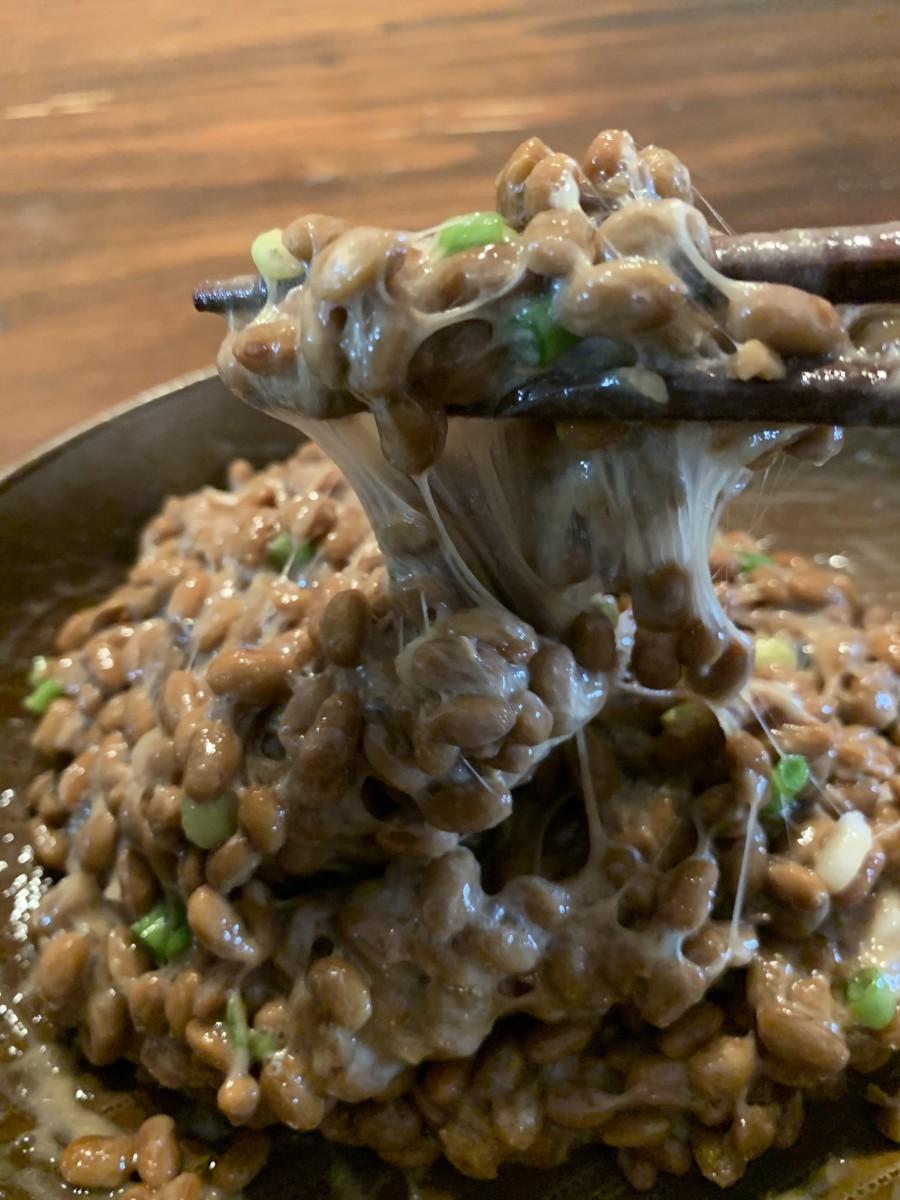 「Sankyodai Natto(三兄弟納豆)」みずみずしくぷりぷりとした豆本来の味が残っていることが特徴