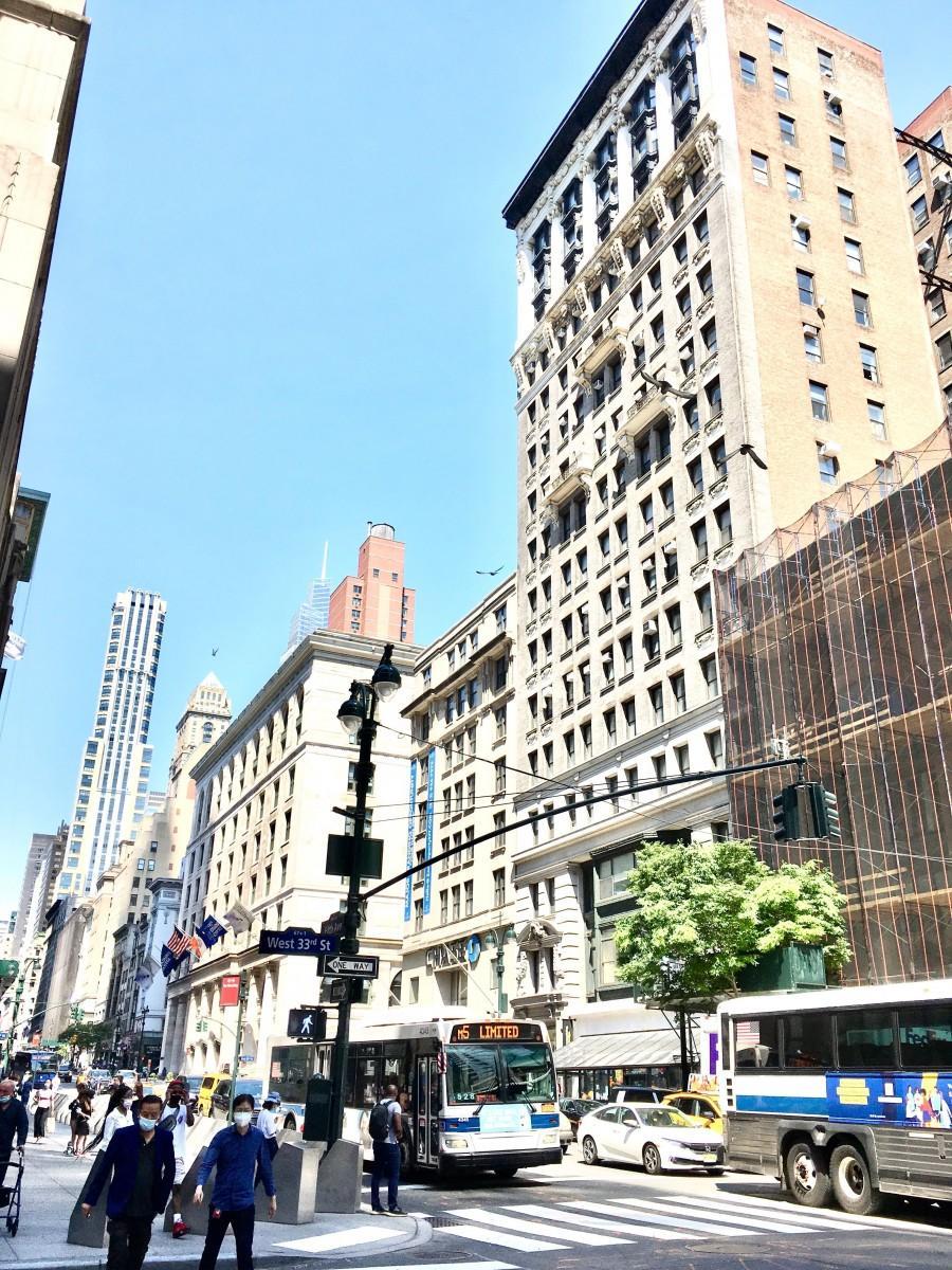 ニューヨーク街の様子(2021年5月19日)