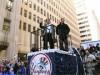 NYで「ヤンキース」優勝パレードと祝賀式典-「市の鍵」授与も