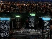 東京駅で「Tokyo GranCandle」-高層ビル4棟をキャンドルに見立てる