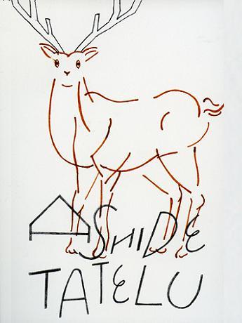 小伝馬町のギャラリーでイラスト展ashide Tatelu 日本橋経済新聞