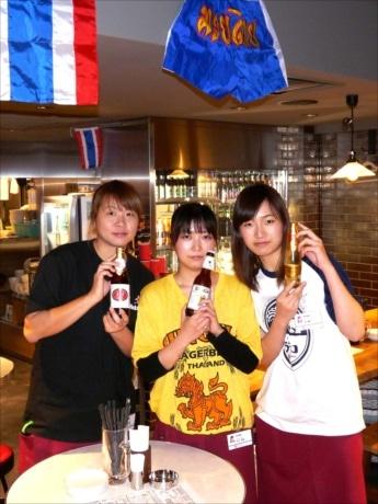 アジア各国のお酒が楽しめる「東京屋台」