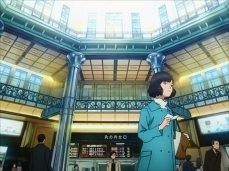 東京駅を舞台とした短編アニメ「時季(とき)は巡る~TOKYO STATION~」