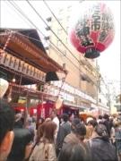 日本橋本町の宝田恵比寿神社で「べったら市」-有名漫画家が似顔絵ブース出店も