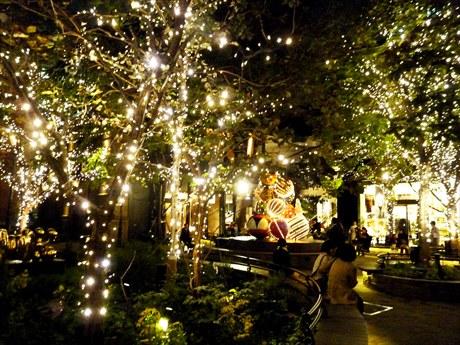 丸の内エリアでは「クリスマスサーカス」をテーマに彩り豊かなイルミネーションを展開