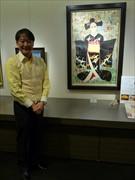 大丸東京店で「 はんなり舞妓たち ~油絵展」 色鮮やかな舞妓画で初春飾る