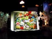 日本橋室町に「五感で楽しむ」体験型庭園 生花とデジタルアートで花の楽園創出