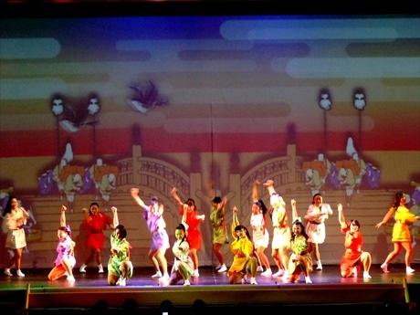 日本の伝統芸能にアニメやアクロバットダンスを融合させた観客参加型の新感覚ミュージカル・ファンタジー