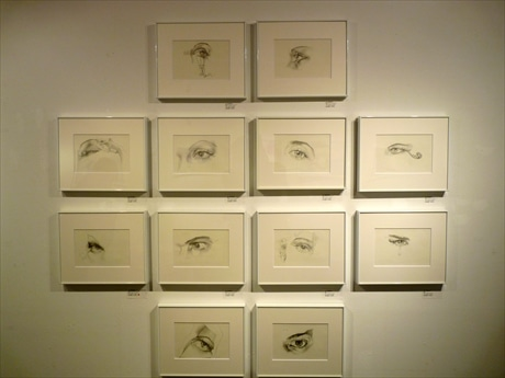 日本橋大伝馬町で合田佐和子「90度のまなざし」出版記念展 1周忌追悼兼ねて