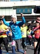 東京マラソン、日本橋を渡る 新ゴール東京駅行幸通り目指し36000人疾走