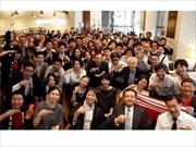 日本橋ワーカーの新旧交流朝活会が5周年 毎月コツコツ、朝食囲んで60回