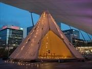 東京駅グランルーフで「ナツあそび」 テント泊企画や天体観測、抹茶体験など
