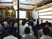 大伝馬町で「日本橋トークショー」 登壇者が地元愛語り合う