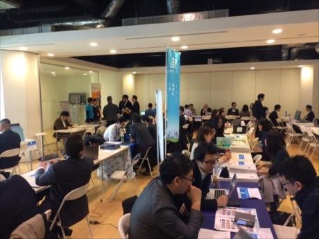 札幌を代表するIT企業、またはIT職種を採用予定の企業が過去最大の35社が出展