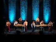日本橋三井ホールで和楽器オーケストラ「年の瀬ライブ」 老舗コラボ試食会も