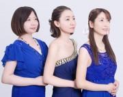 日本橋ふくしま館で「福島三人娘」ライブ 被災地へ思い込め新曲発表