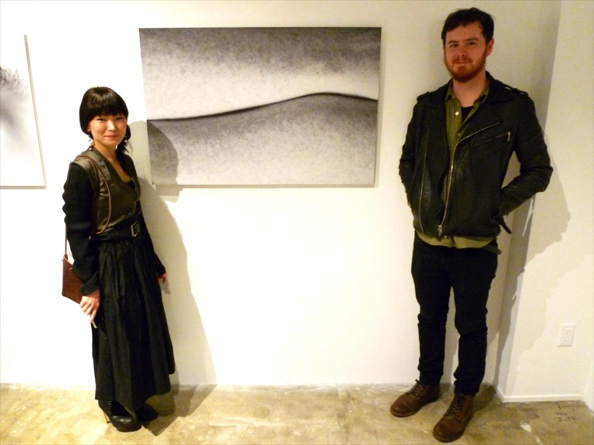 Namiko Kitauraさんと、世界一魅力的な「ソバカス」を持つというモデルのMATTさん