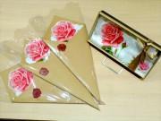 日本橋コレド室町3に期間限定ハンカチ専門店 母の日向け花束風ラッピングも