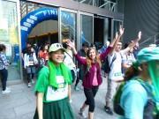 東京駅発のウオーキング企画「東京ヤマソン」 山手線一周、参加費で途上国支援