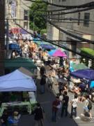日本橋大伝馬町で「くされ市」 江戸から続く市を地域住民ら手作りで復活