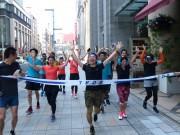日本橋のホテルで健康ランニング 地元ワーカー40人が早朝の街を疾走