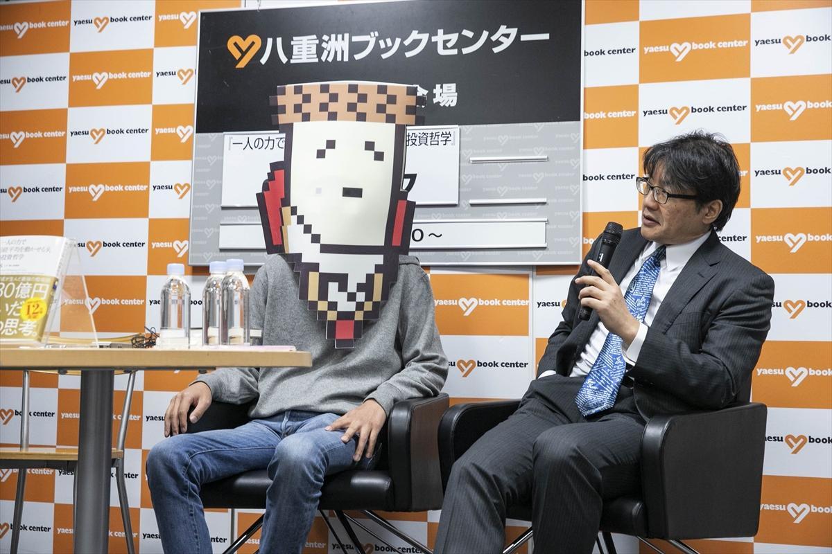cisさん(左)とマージャンライターの福地誠さん