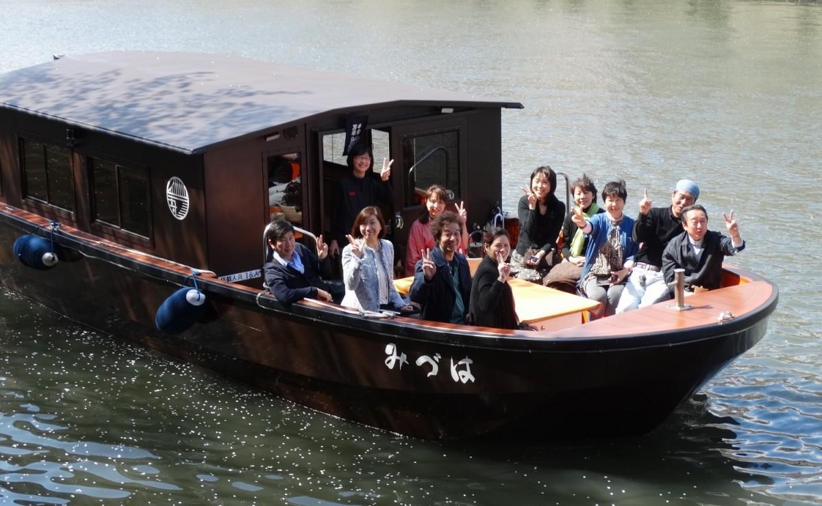 6周年を迎える和モダン屋形舟「舟遊びみづは」