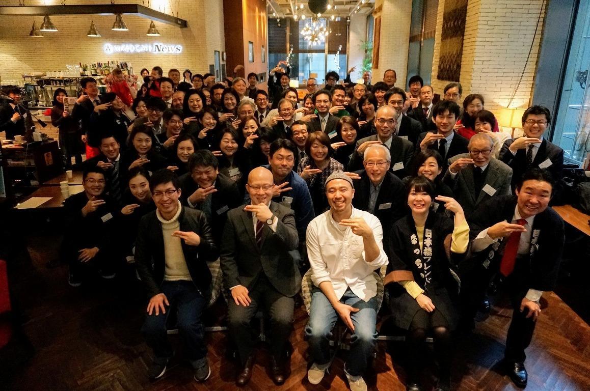 毎回、100人を超す参加者でにぎわう朝活イベント「アサゲ・ニホンバシ」(写真提供:日本橋フレンド)